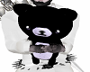 Hug Black Teddy Bear Avy