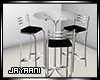 Silver Highchair Table