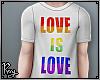Love is Love Male Tee