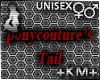 +KM+ Ponycotures Tail