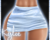 RL Satin Sky Skirt