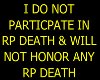 Against RP Death 1