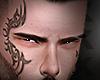 X▬RF face tattoo