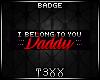 !TX - I Belong Badge
