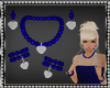 Sophi Navy Blue Jewelry