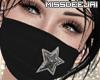 *MD*Black Star Mask