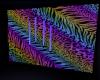 rainbow animal print