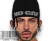 😜NO CAP/BLACK