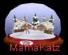 MK Candy Lane Snowglobe