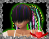 Rainbow dreads (F)