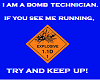BOMB TECHNICIAN Sticker