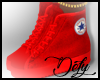 (Def)All Red Sneakers