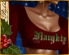 I~Naughty Red Knit Top