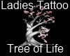 Female Tree of Life Tatt