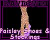 [R] Paisley & Mesh Shoes