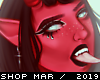 Devil Girl Art