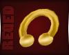 R- Gold Septum Huge