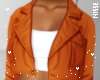 n| Crop Coat Orange