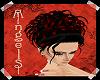 Goddess Black Red Tip