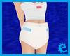 [E] Novelty White Diaper