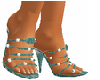 turquois shoes
