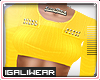 ►Yellow Cropped .Top