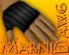 Black Stripe Glove Left