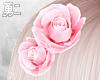 Y' Pink Roses Hair