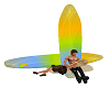 Surfboard cuddle