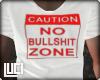 !L! No Bs Zone Mens