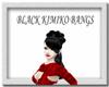 [FCS] Black Kimiko Bangs