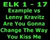 Example vs Lenny Kravitz