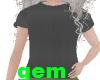 [g] black t-shirt