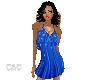 Nice Blue Sparkle Dress
