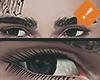 Eye Black Confused