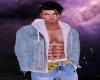 Open Denim jacket