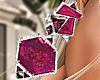 Bali Earrings Pink