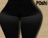 Black Satin Leggings RLS