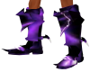 Purple Armour Boots