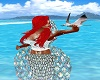 Ariel Mermaid Top Aqua