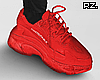 rz. Trey Red Sneakers