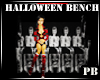 {PB}Halloween Bench