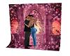 romantic back drop