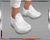 DC* LEATHER SHOES WHITE