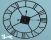 1K Attic Iron Wall Clock