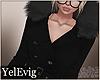 [Y] Winter black coat