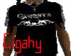 Black Camo Gangsta Shirt
