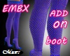 EMBX FISHNET ROYAL BIMBO