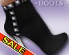 Jean Cut Heel Boots