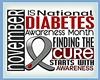 November Diabetes Flag